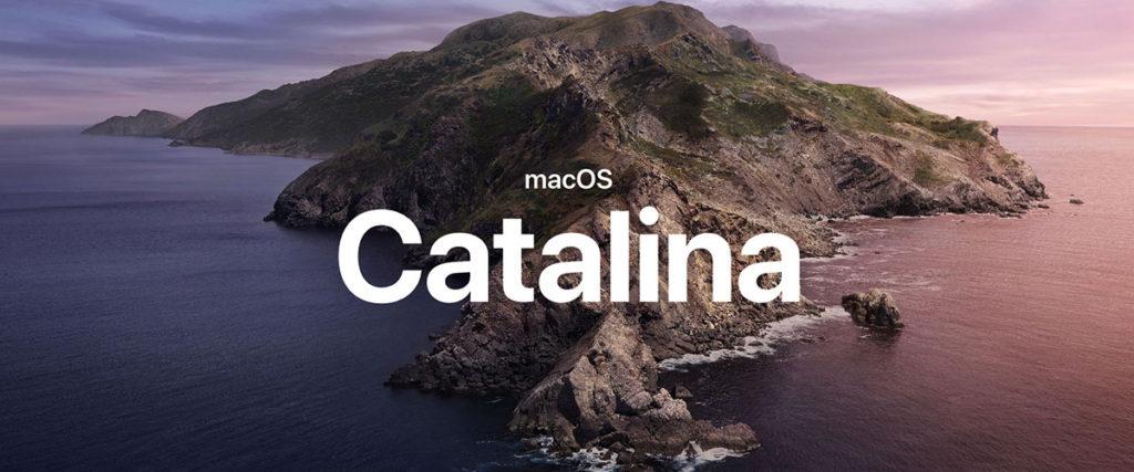 macOS Catalina Upgrade Notes